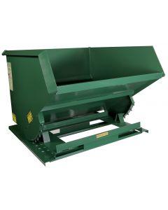 Steel Self-Dumping Hoppers Heavy Duty 6,000 Lb Capacity
