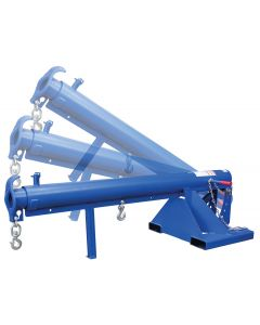 Lift Master Forklift Boom - Non-Telescoping - Orbiting - 8,000 lb. cap. (LM-OBNT-8-24)