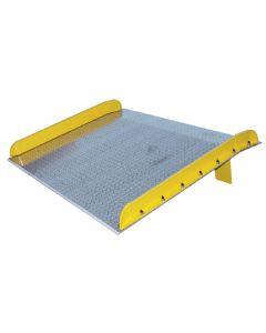 Aluminum Dockboards with Steel Curbs