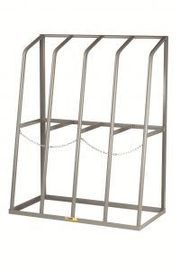 Little Giant Vertical Bar Rack With 4 Bays BR244860