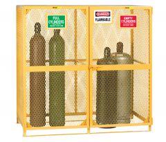 Little Giant Gas Cylinder Storage Units GSU272W70H