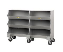 Little Giant Mobile Storage Bins with One storage capartment per level MS115326PH