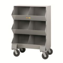 Little Giant Mobile Storage Bins with Two storage capartment per level MS215326PH