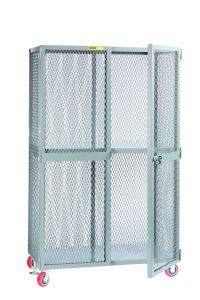 Little Giant All-Welded Storage Locker with 1 Center Shelf SL12448