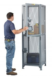 Little Giant Two Compartment Compact Storage Locker SL12D2424