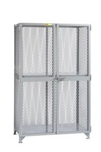 Little Giant All-Welded Storage Locker with 1 Center Shelf SL13048