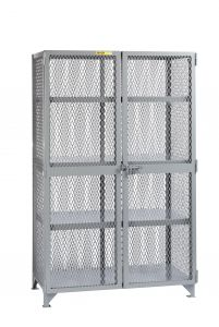 Little Giant All-Welded Storage Locker with 3 Adjustable Center Shelf SL33048