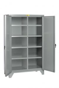 Little Giant High Capacity Storage Cabinet with 4 Adjustable Shelves SSL4A2448
