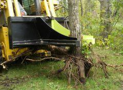 Hydraulic Post / Tree Puller BG-35