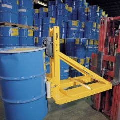 """Fork Mounted Drum Lifters-(1) Steel, Poly or Fiber-1,500-33""""x47""""x37""""-340"""