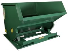 Steel Self-Dumping Hoppers Heavy Duty 6,000 Lb Capacity