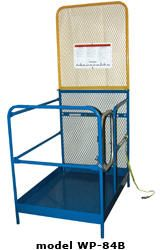 Vestil WORK PLATFORM W/84 IN EXPAND BACK 36X36