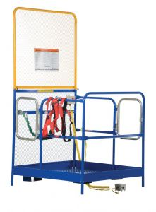 "Forklift Work Platforms 48"" x 48"" x 60""  Full Featured (#WP-4848-FF)"